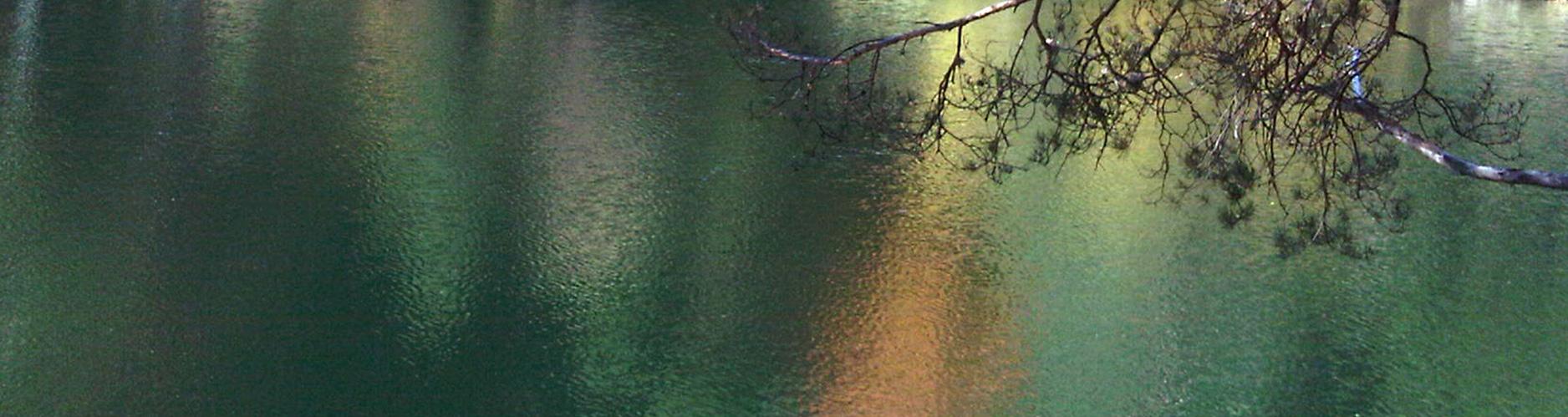 rua papel política de calidad y medio ambiente orilla lago slide