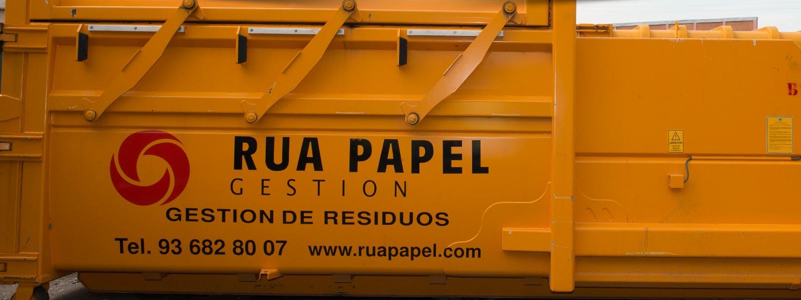 rua papel nosotros contenedor corporativo slide 2